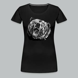 Bear - Women's - Women's Premium T-Shirt