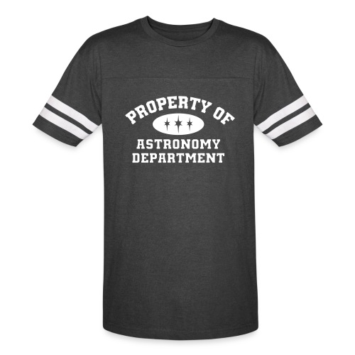 Property Of Astronomy Department Tshirt - Vintage Sport T-Shirt