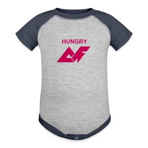 'Hungry' AF Baby   - Baby Contrast One Piece