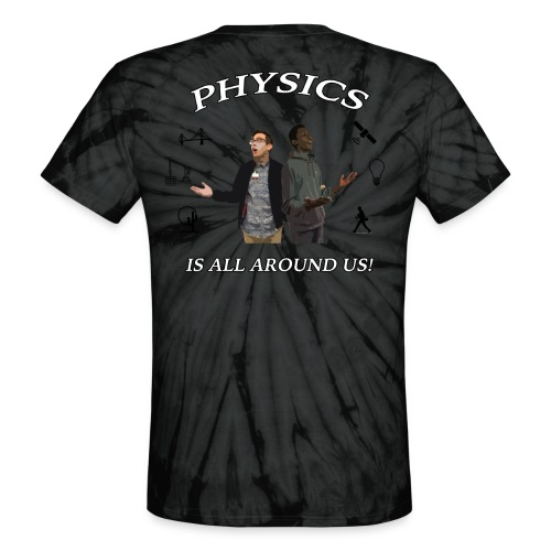 Physics Day 2018 - Physics Tie Dye - Unisex Tie Dye T-Shirt
