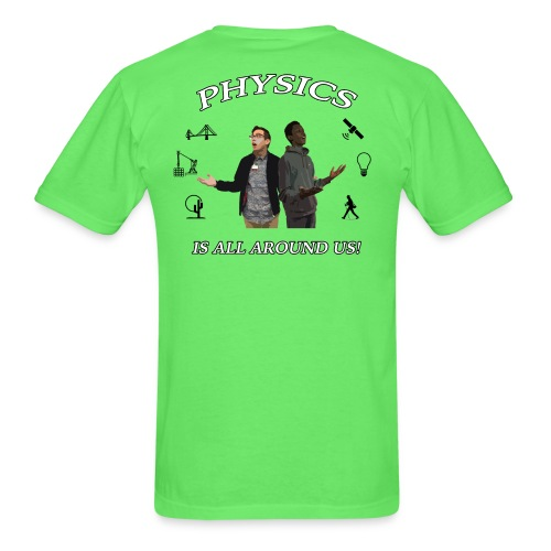 Physics Day 2018 - Physics Solid Colors - Men's T-Shirt