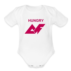 'Hungry' AF Baby   - Short Sleeve Baby Bodysuit