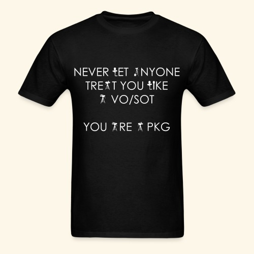 You are a PKG T-Shirt - Men's T-Shirt