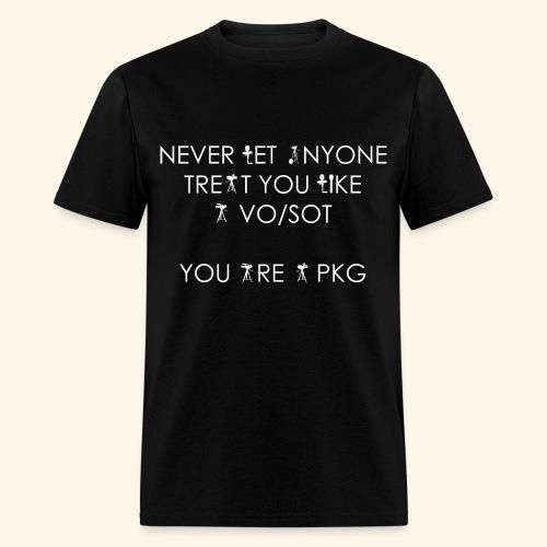 You are a PKG T-Shirt - Men's T-Shirt