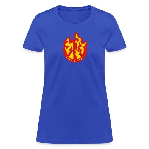 Kill You Peace Sign - Women's T-Shirt