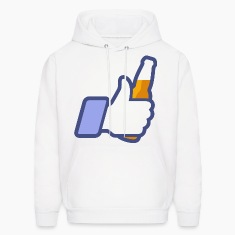 Like Bottle Thumbs Up (dd)++2012 Hoodies