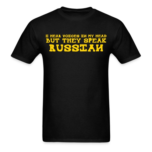 I Hear Voices FPS Russia - Men's T-Shirt