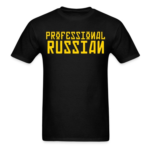 Professional Russian FPS - Men's T-Shirt