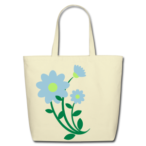 bunch of flowers - Eco-Friendly Cotton Tote