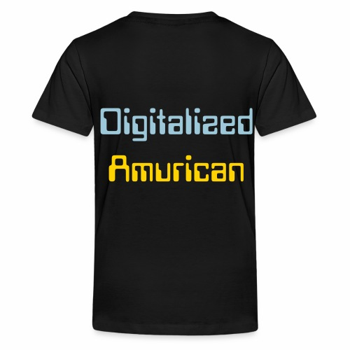 Digitalized Amurican Kid's T-Shirt - Kids' Premium T-Shirt