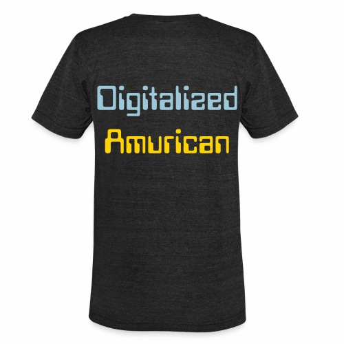 Digitalized Amurican T-Shirt - Unisex Tri-Blend T-Shirt