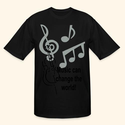 Music can change the world - Men's Tall T-Shirt