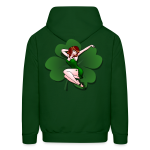 Lucky Hoodie Lucky Retro Pinup Girl Sweatshirt - Men's Hoodie
