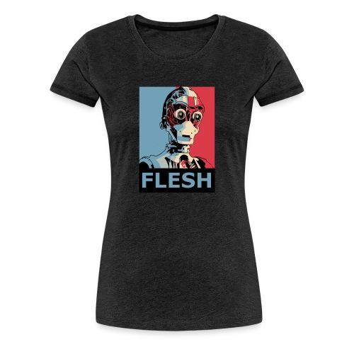 FLESH Deluxe Women - Women's Premium T-Shirt