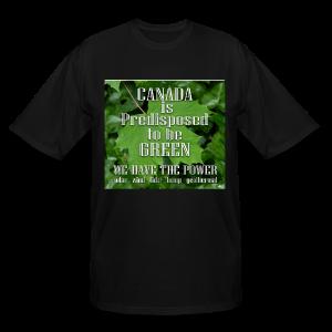 Green Canada Power T-shirts Plus Size - Men's Tall T-Shirt
