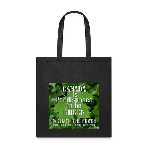 Green Canada Power Tote Bags - Tote Bag