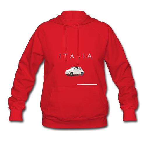 Fiat 500 Vintage Italian Style  - Women's Hoodie