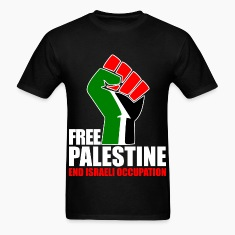 Free Palestine end Israeli Occupation T-Shirts