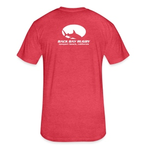 Back Bay Rugby T-Shirt - Fitted Cotton/Poly T-Shirt by Next Level