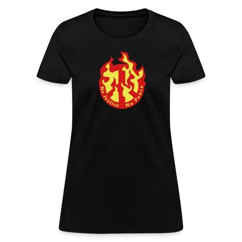 No Justice No Peace  - Women's T-Shirt