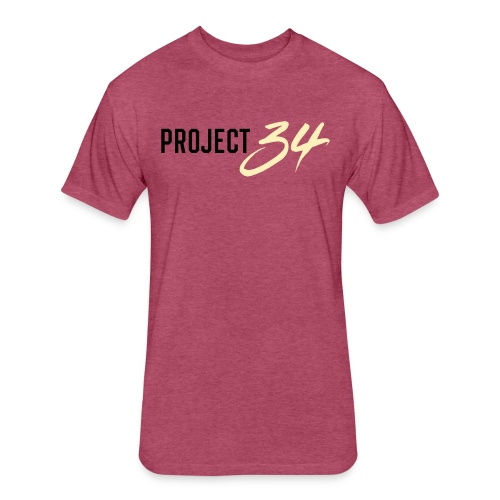 Project 34 - Phoenix - Fitted Cotton/Poly T-Shirt by Next Level