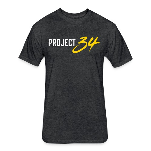 Project 34 - Pittsburgh - Fitted Cotton/Poly T-Shirt by Next Level