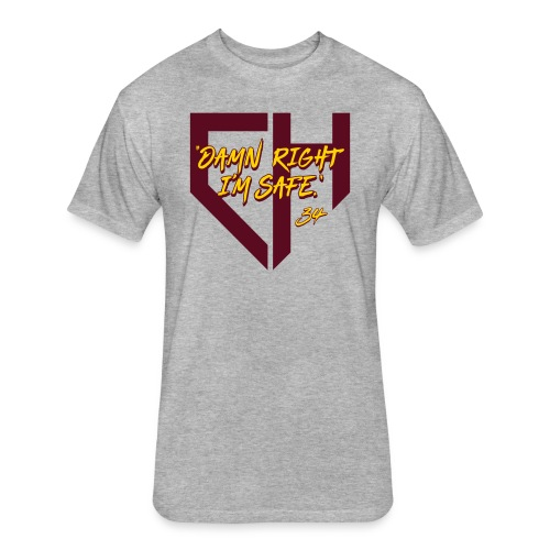 Damn Right I'm Safe - Tempe - Fitted Cotton/Poly T-Shirt by Next Level