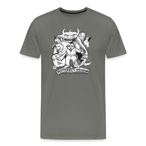 Mysteries of the Unknow Carpetbagger T-Shirt - Men's Premium T-Shirt