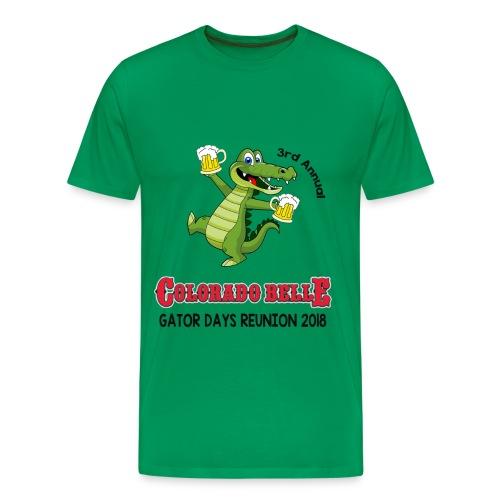 2018 Gator Days T-shirt - Men's Premium T-Shirt