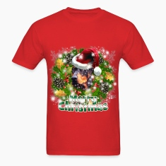 Merry Christmas Doberman T-Shirts