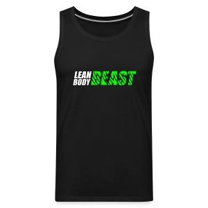 Lean Body Beast - Premium Tank Top - Men's Premium Tank