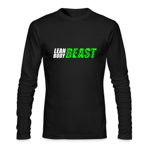 Lean Body Beast - Men's Long Sleeve T-Shirt - Men's Long Sleeve T-Shirt by Next Level