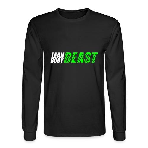 Lean Body Beast - Men's Long Sleeve T-Shirt - Men's Long Sleeve T-Shirt