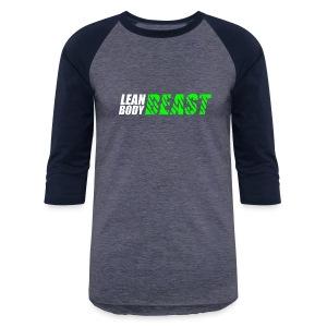 Lean Body Beast - Baseball T-Shirt - Baseball T-Shirt