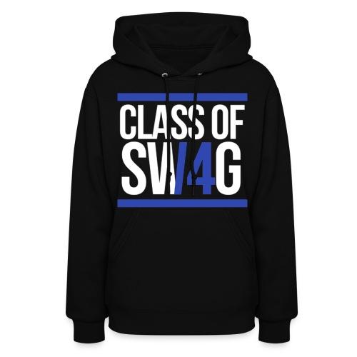 Class of Swag Blue Women  - Women's Hoodie