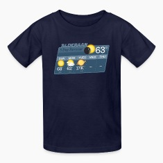 STAR WARS ALDERAAN 5 DAY WEATHER FORECAST Kids' Sh