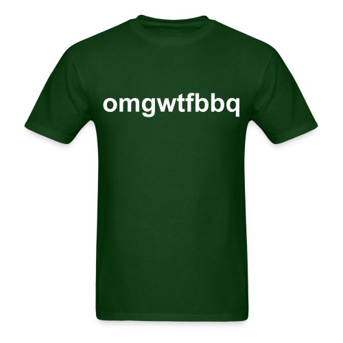 omgwtfbbq (men's) - Men's T-Shirt