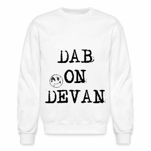 Dab On Devan w/ Smiley Sweater - Crewneck Sweatshirt