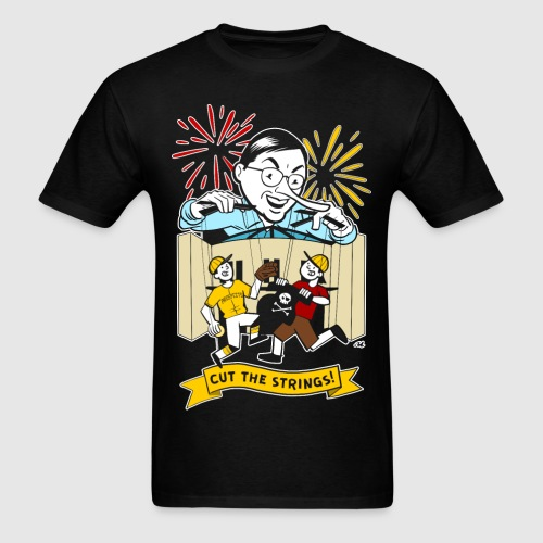 Cut the Strings - Men's T-Shirt