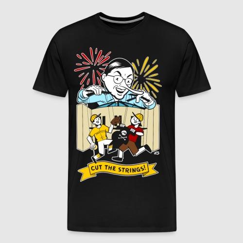 Cut the Strings - Men's Premium T-Shirt
