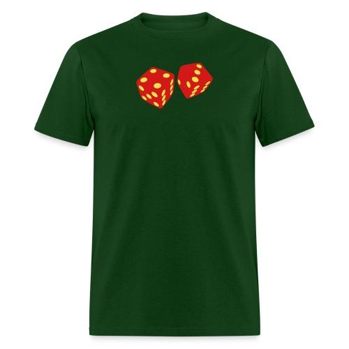 Golden Dice - Good Luck - Men's T-Shirt