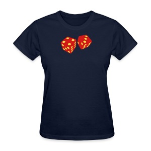 Golden Dice - Good Luck - Women's T-Shirt