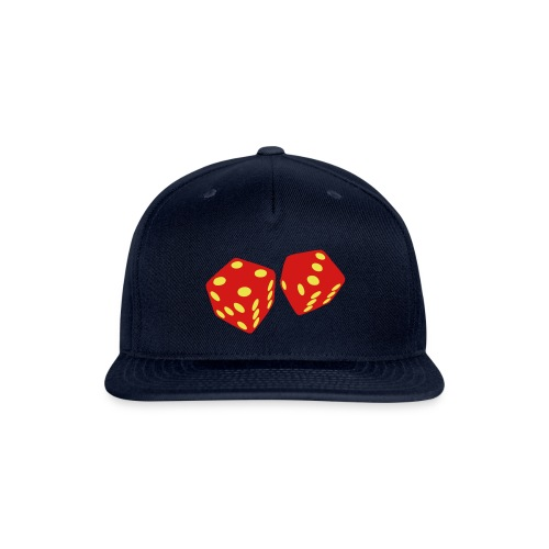Golden Dice - Good Luck - Snap-back Baseball Cap
