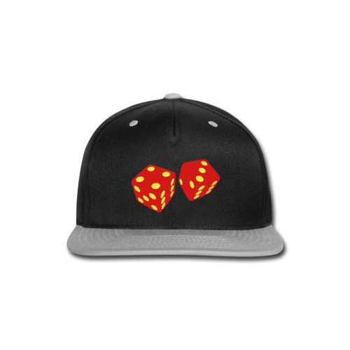 Golden Dice - Good Luck - Snap-back Baseball Cap