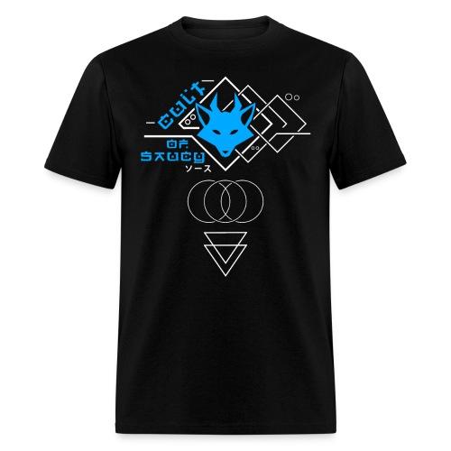 Cult of Saucy - Cyberpunk Blue - Men's T-Shirt