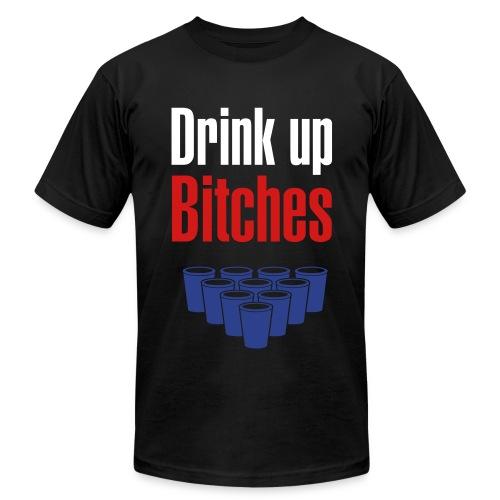 Drink Up - Men's Fine Jersey T-Shirt
