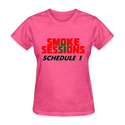 Lady Smoke Session Logo Tee - Women's T-Shirt