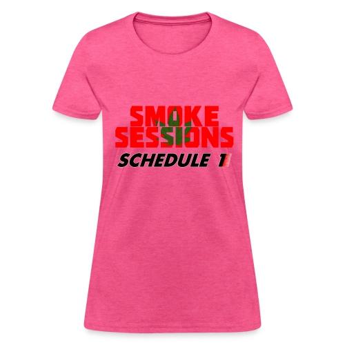 Lady Smoke Session Logo Tee - Women's T-Shirt