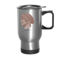 Mugs & Drinkware ~ Travel Mug ~ Spartan women travel mug