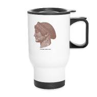 Mugs & Drinkware ~ Travel Mug ~ Spartan women travel mug
